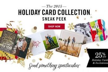 Tiny Prints Christmas Cards & Special Deals