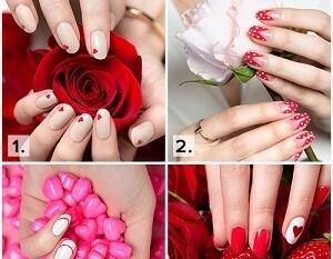 Julep DIY Valentines Nail Design