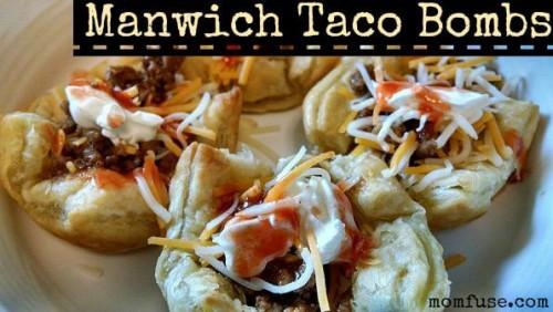 Manwich Taco Bombs