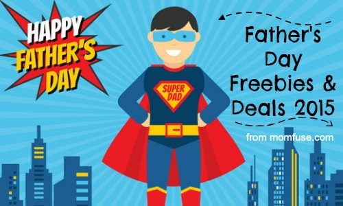 Fathers Day Freebies & Deals