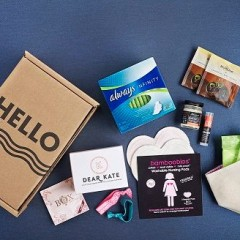 HelloFlo New Mom Kit: Essentials For New Moms