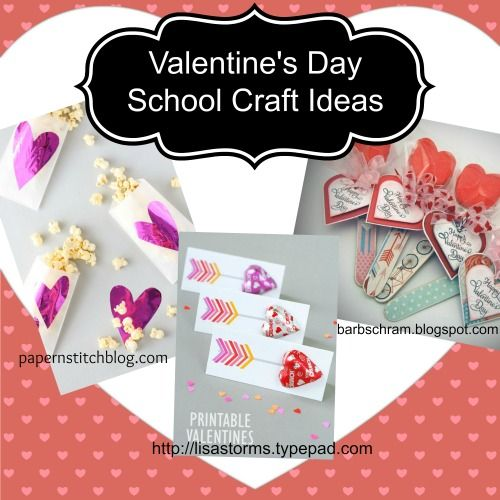 School Crafts for Valentines Day