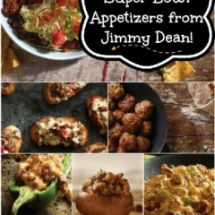 Super Bowl Appetizers from Jimmy Dean! Yum!