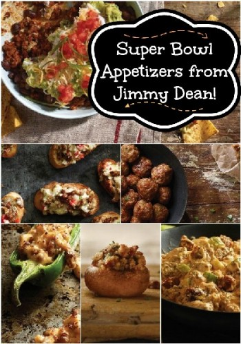 Super Bowl Appetizers Jimmy Dean