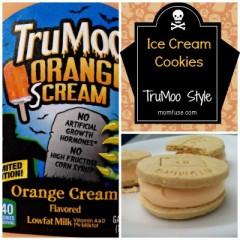 TruMoo Orange Ice Cream Sandwich Cookies