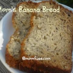 Mom's Banana Bread Recipe