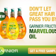 Free Sample Garnier Marvelous Oil