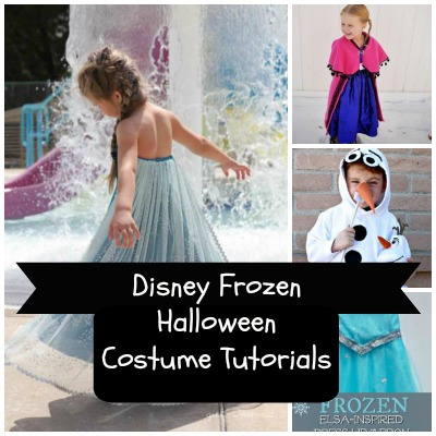 Disney Frozen Halloween Costume Tutorials