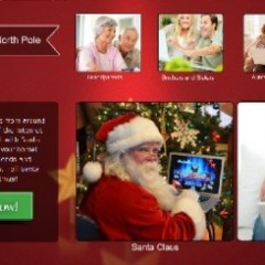 Face-To-Face Live Video Conference With Santa