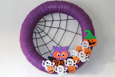 DIY Cute Halloween Wreaths