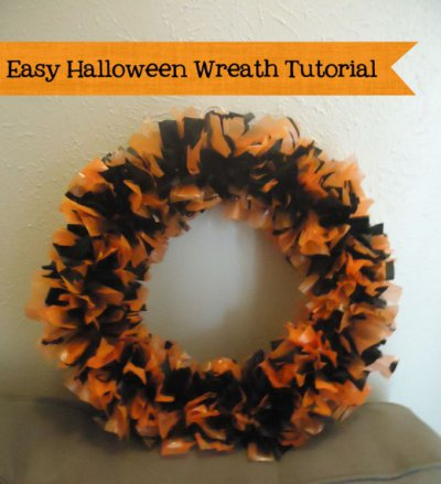 Cute DIY Halloween Wreath