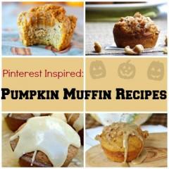 Pinterest Inspired: Pumpkin Muffin Recipes