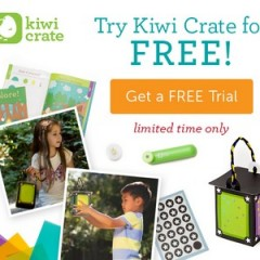 Free Trial Kiwi Crate My Glowworm Friend (Back Again!)