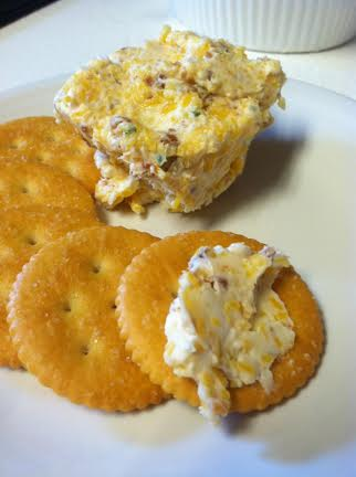 Bacon Cheese Ball Dip