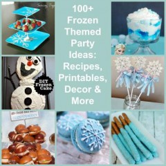 100+ Disney Frozen Themed Party Ideas: Food, Decorations, Printables & More