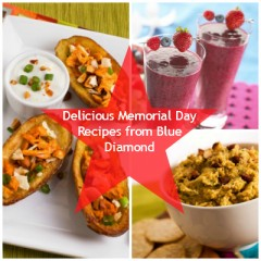 Delicious Memorial Day Recipes from Blue Diamond!