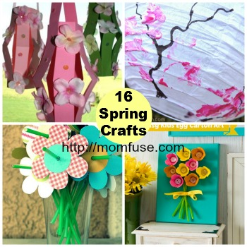 Mom fuse 16 spring crafts to do with your kids for Fun crafts to do with your mom