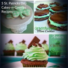 5 Fun St. Patricks Day Cookies n Cupcakes Recipes