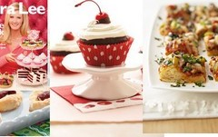 Sneak Peak Recipes from Sandra Lee Bake Sale Cookbook Part 3 & 4