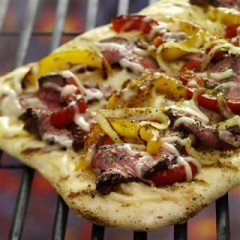 Grilled Steak Lover's Pizza – Perfect For Father's Day!