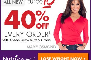 NutriSystem Weight Loss Program + 40% Off Every Order