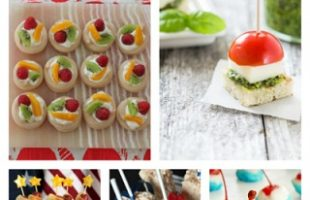 Fun N' Simple 4th of July Finger Foods