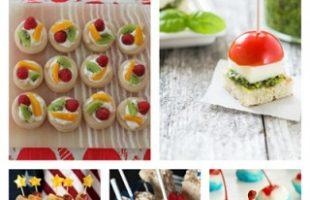 Fun N' Simple 4th of July Finger Foods