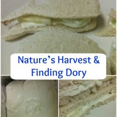 Nature's Harvest & Finding Dory Inspired Sandwiches #ad
