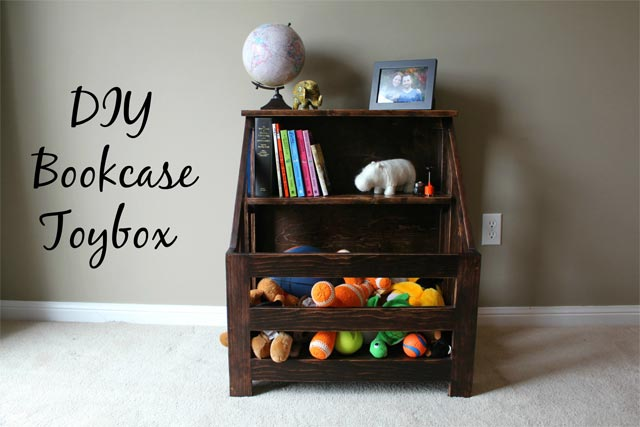 Decorate Toys in a Bookcase