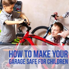 How to Make Your Garage Safe for Children
