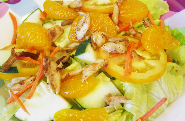 Sprouts with Orange Salad
