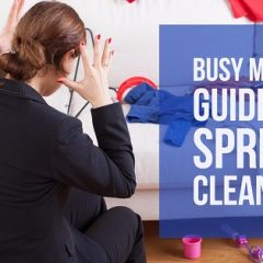 Busy Mom's Guide to Spring Cleaning