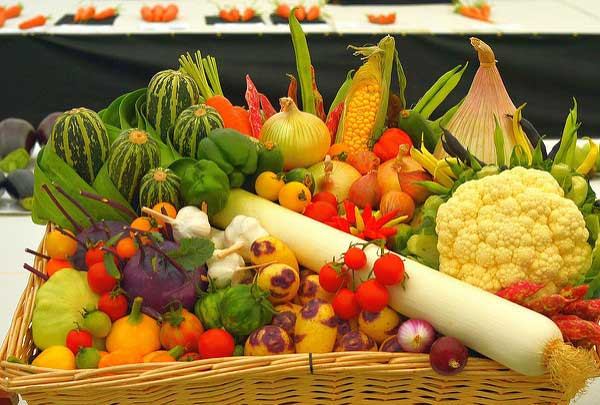 vegetarian food baskets