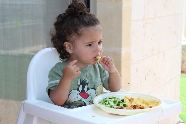 eating quality food