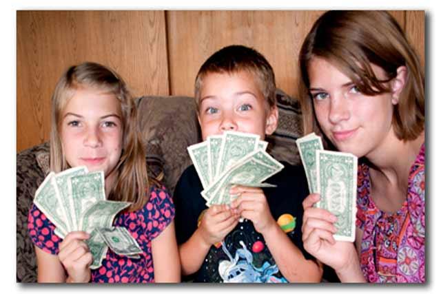 Kids Saving Money